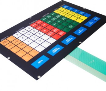 Membrane Keyboard Access Control